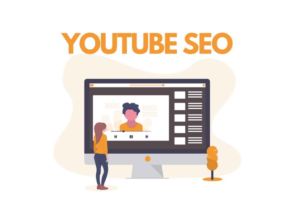 YouTube SEO Illustration